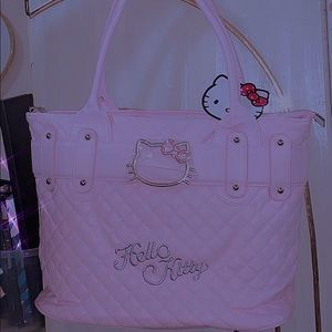 Hello Kitty Pink Leather Purse